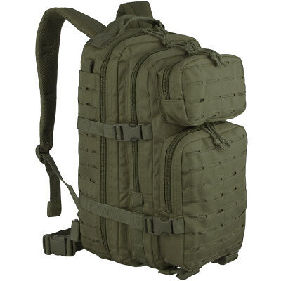 9b01b81274c US Assault Pack Small Patrol Backpack Military MOLLE Rucksack Hiking Bag  Olive