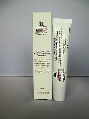 Kiehl's Blemish Control Daily Skin Clearing Treatment - Boxed - 30ml