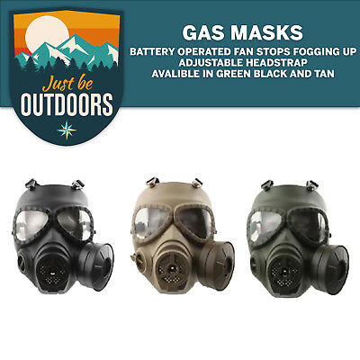 M04 Airsoft Tactical Wargame Dummy Gas Protective Mask Anti-Fog