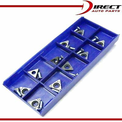 AMMCO FMC Snap On Carbide Inserts Brake Lathe 90488 Positive Rake Bits 10 Pack