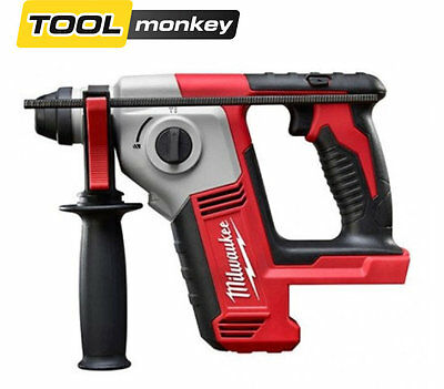 Milwaukee M18BH-0 18v Compact SDS Hammer Drill Bare Unit + Free T-Shirt