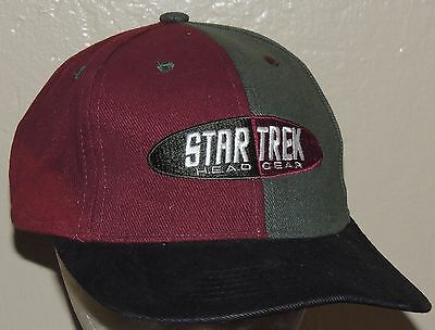 STAR TREK CAP HAT BASEBALL THE NEXT GENERATION Picard data ...