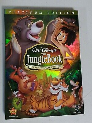 The Jungle Book DVD, 2007, 2-Disc Set, 40th Anniversary