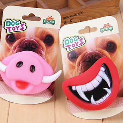 Vogue Halloween Christmas Funny Pet Dog Teeth Toy Puppy Chew Sound Dogs Toys
