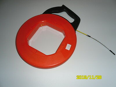 Fish Tape Fiberglass Wire Cable Running Rod Duct Rodder Fish tape Puller