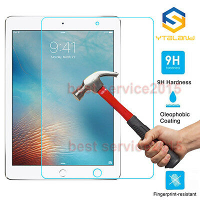 """9H Premium Tempered Glass Film Screen Protector For iPad 9.7"""" 2018 6th"""