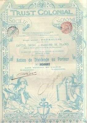 Trust Colonial   1899