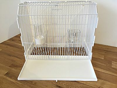 Plastic Display/exhibition/carry/training Cage Finches, Budgies, Canaries Birds