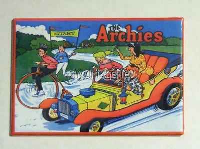 "THE ARCHIES side B Metal LUNCHBOX   2"" x 3"" Fridge MAGNET ART"