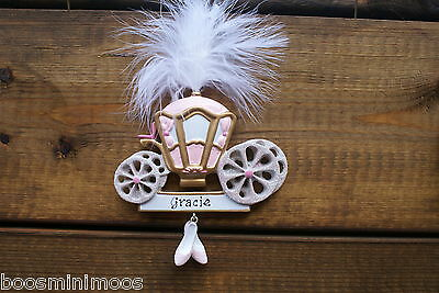 Personalised Christmas Decoration Princess Carriage