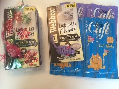Cat and Kitten Treats Variety / Bulk Pack