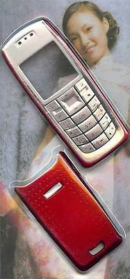 New!! Red Housing /Fascia /Cover /Case for Nokia 3120