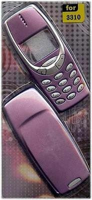 New!! Purple Housing / Fascia / Cover / Case for Nokia 3310 / 3330