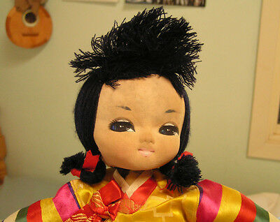 Vintage Korean Doll 1960's