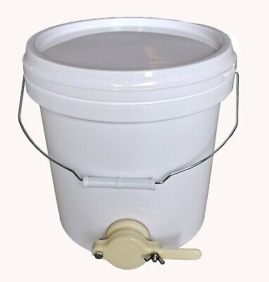 20L Plastic Honey Bucket With Honey Gate + 45x500g container + 10x1kg conainer
