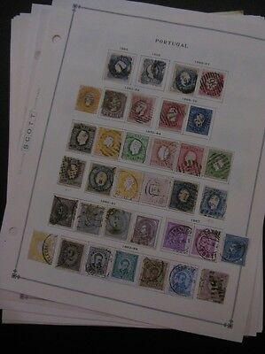 PORTUGAL : Old time nice & clean Mint & Used collection on pages w/ many Better.