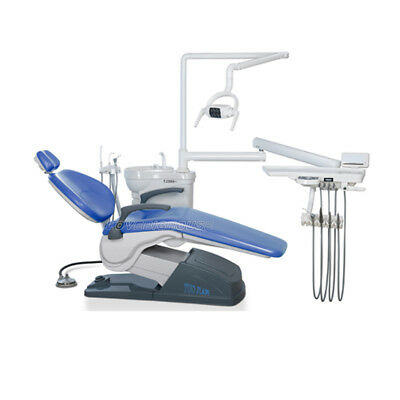 Tuojian TJ2688 A1 Dental Chair Unit Hard Leather Computer Controlled DC Motor