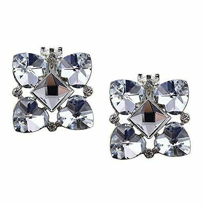 "Jewelled Shoe Clips, Shoe Jewels, Bridal Prom Shoe Accessories (1 Pair) ""Martha"""