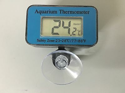 Digital LCD Waterproof Fish Aquarium Water Tank Temperature Thermometer Meter UK • EUR 3,15