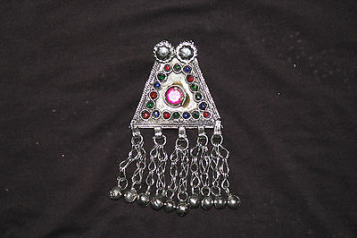 Vintage Ethnic Antique trible Afghan old Gypsy Kuchi Tribal Handcrafted Pendant