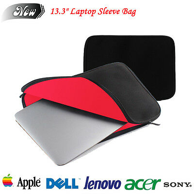 """13.3"""" Notebook Laptop Sleeve Bag Case Cover For Apple Macbook Pro Air 13 Inch"""