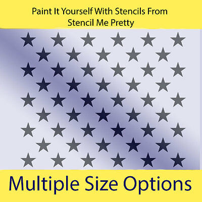 patriotic stars stencil you pick size of star liberty american flag template. Black Bedroom Furniture Sets. Home Design Ideas