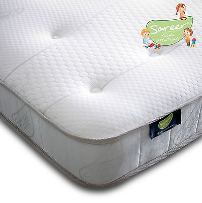 Sareer Mattress Kids Asprire 1000 Pocket Sprung Memory Foam Mattress 2FT 6 & 3FT