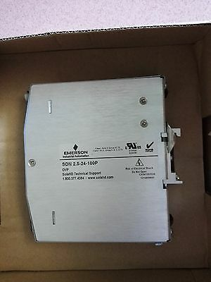 Sola Sdn2.5-24-100P  Power Supply *new In A Box*
