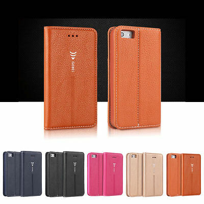 Luxury Leather Flip Shockproof Thin Stand Wallet Case Cover For iPhone 6 6s Plus