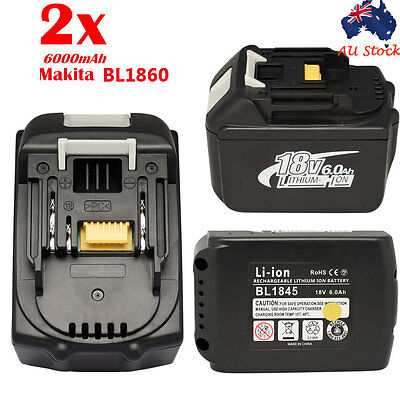 18V 6000mAh Battery for New Makita  BL1860 LXT Li-Ion Compact Battery Makita