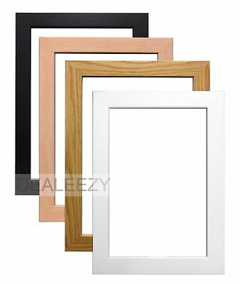 New Modern Wooden Style Picture Photo Frame Home Office Work Gift All Sizes