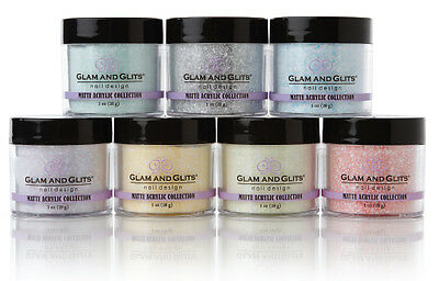 Acrylic Powder Matte collection - 1oz -  Glam and Glits