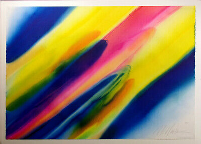 Marvin Markman Original Watercolor Painting abstract fine art, 1982, Make Offer!