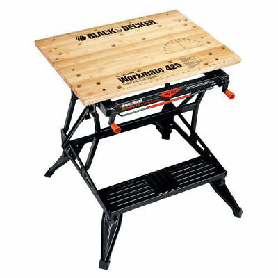 Black & Decker Workmate 425 Portable Project Center and Vise WM425 New