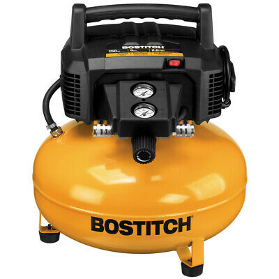 Bostitch 6 Gallon 150 PSI Oil-Free Compressor BTFP02012-R Reconditioned