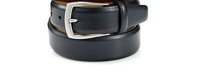 Men's Casual Black Brown Dress Genuine Leather Belt w/ Buckle New Size S M L XL