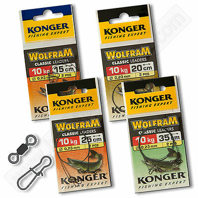 Wire Traces Leader 10kg 22lb Wolfram Tungsten Pike Soft Lure Sea Fishing Tackle