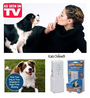 Bark No More Buster Stopper Dog Puppy Ultrasonic Signal Wireless Portable Device