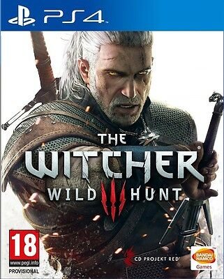 New The Witcher 3 III Wild Hunt (PS4, Playstation 4)