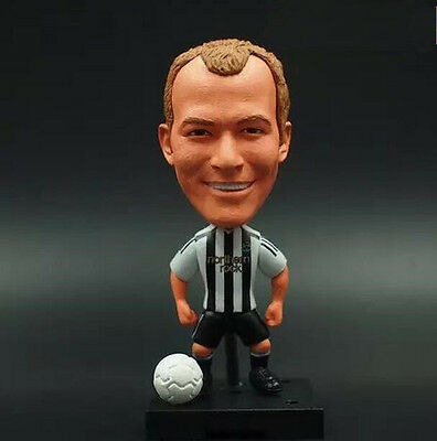 Newcastle United Soccer Football Star Alan Shearer Toy Action Figure Doll New