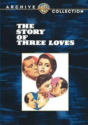 The Story of Three Loves DVD Pier Angeu Ethel Barrymore