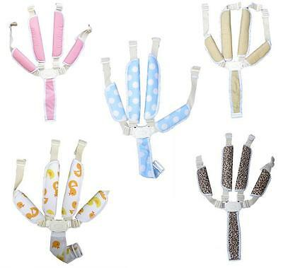 Five-point Baby Chair Seat Safety Belt Stroller Harness Straps Protection