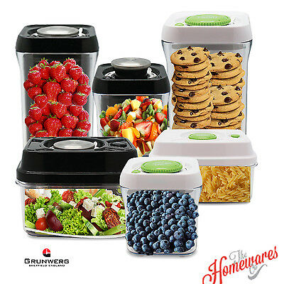 Pioneer Pump Fresh Vacuum Food Storage Container Canister Jar