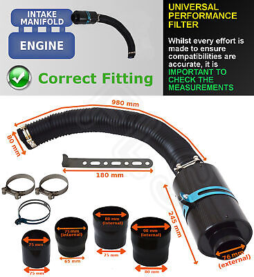 Universal Performance Cyclone Filter Induction Kit - Un1607 – Vw 1