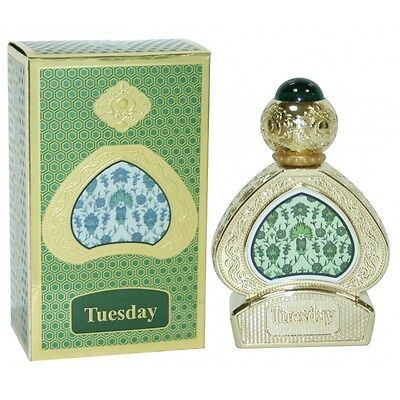 Tuesday By Al Haramain Floral Citrus Woody Warm Spicy Fresh 15ml Perfume Oil