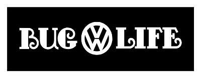 Bug Life Volkswagen Big 4X22 Size Beetle Vw Tdi Vinyl Car Window Decal Sticker