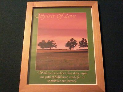 spirit of love framed picture 8x10
