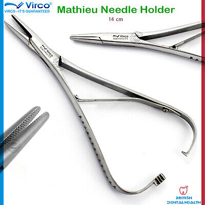 Mathieu Holding Placing Tying Ligatures Elastics Plier Forcep Ortho Dental Lab