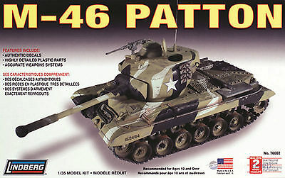Lindberg M-46 Patton Miltary Tank Model 1:32
