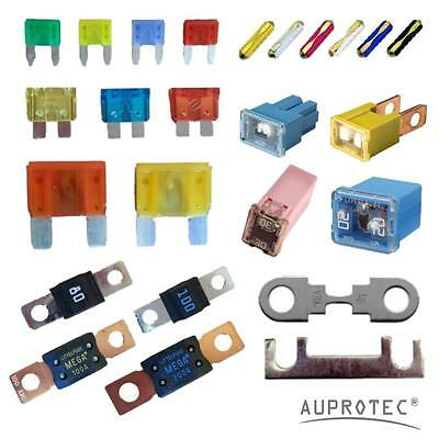 Vehicle Car Flat Plug Fuses Midi Mega Block Sheets Strip Ceramic Fuse